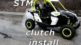 9. STM install on a Can-Am Maverick, burnouts, donuts, and mud mayhem!!!