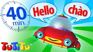 In TuTiTu's Language Learning series, TuTiTu announces the toy's name first in English, then in a second language. That way, children can learn new vocabular...