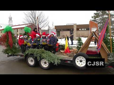 Défilé du père Noël à Sainte-Catherine-de-la-Jacques-Cartier