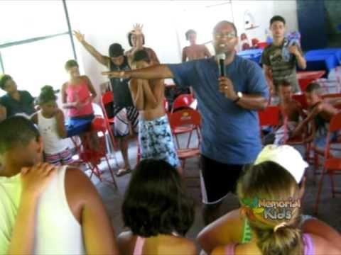 Acampakids de verão da IB. Memorial em Silva Jardim - 2011