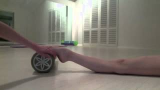 Feet and Hyper Extention Exercises ♡ - YouTube