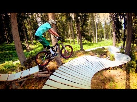 Freeride-Bike-Trail Gotschna