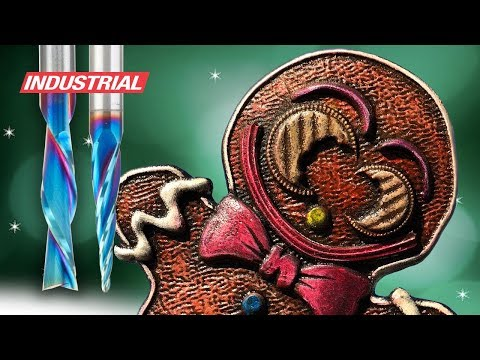 CNC Project: 3D Carved Gingerbread Man   ToolsToday