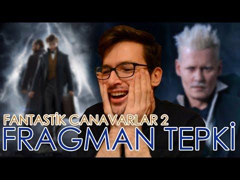 Fantastik Canavarlar 2 Fragman Tepki! - The Crimes of Grindelwald