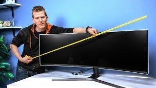 4. Super Ultra-Wide Monitor – Dank or Dumb?