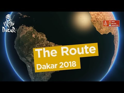 The route - Dakar 2018