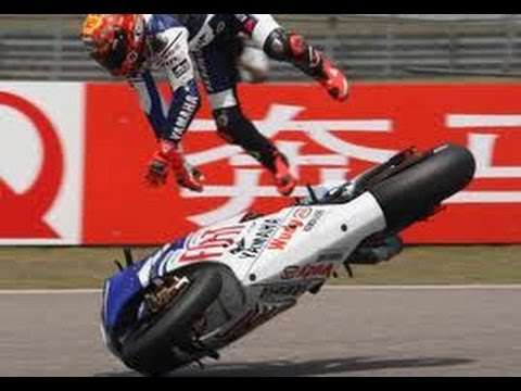 highside - Talking about the difference between the two main ways of crashing a motorbike. Lowsides and highsides.
