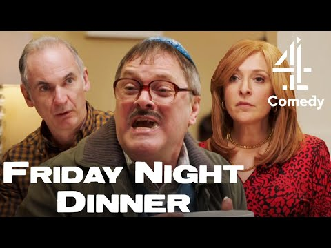 Jim HATES Auntie Val's Rice Pudding?! | BRAND NEW Friday Night Dinner Series 6