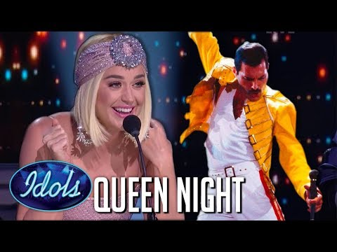 TOP 8 Auditions on QUEEN NIGHT on American Idol 2019 | Idols Global