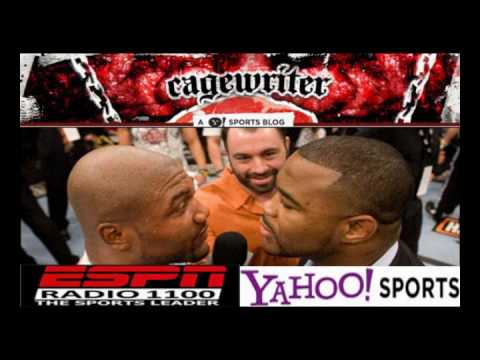 Rampage and Rashad Evans Go Off on Each Other on UFC 114 Press Teleconfrence