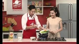Món ngon mỗi ngày - Cải rổ xào nấm Mayonnaise