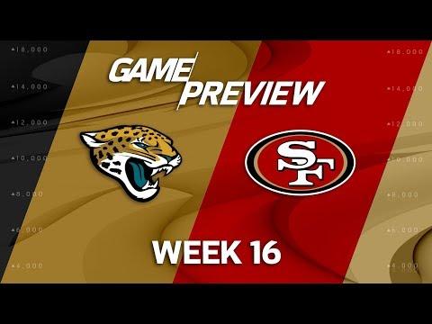 Video: Jacksonville Jaguars vs. San Francisco 49ers   NFL Week 16 Game Preview   NFL Playbook