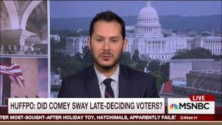 MSNBC: Comey's Letter Did Not Impact The Election