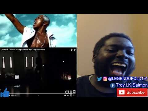SISQO - THONG SONG (DC LEGENDS OF TOMORROW)   REACTION   THIS WAS PURE GENIUS !!!