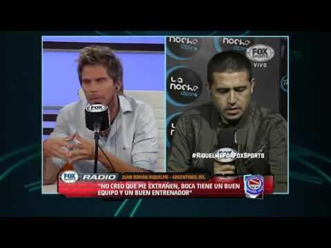 Vide Juan Roman Riquelme entrevista en FOX Sports Radio - Parte 2