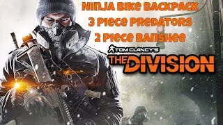 The Division - Patch 1.7 - Testing 3 Predators 2 Banshee and Ninja Bike - Amazing build