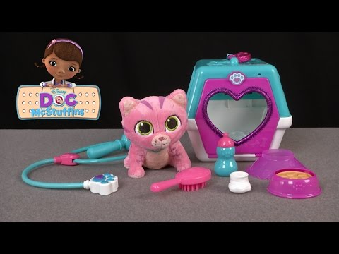 Doc McStuffins On The Go Pet Carrier with Whispers from Just Play