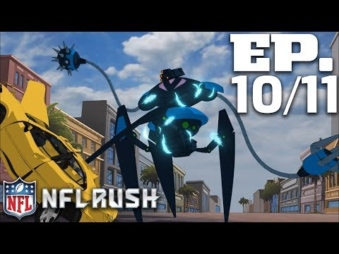 Ep. 10 & 11: The Mystery Guardian (2012 - Full Show) | NFL Rush Zone: Season of the Guardians