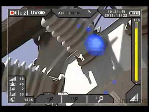 Efeito corona detectado em chave seccionadora SF6
