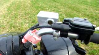 7. Yamaha YFS200 Blaster walk around and start up
