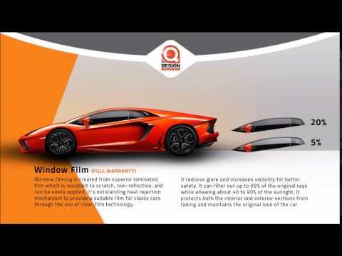 Qdesign Auto Center - Window Film