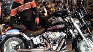 7. Harley-Davidson 2007 Softail FLSTF Fatboy for sale