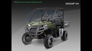 8. Polaris Ranger 500 EFI mid-size