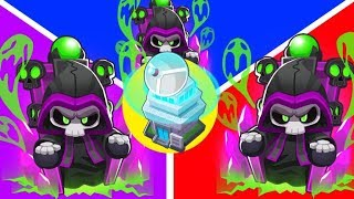 Bloons TD 6 - 4-Player Super OVERCHARGED Prince Of Darkness Challenge | JeromeASF