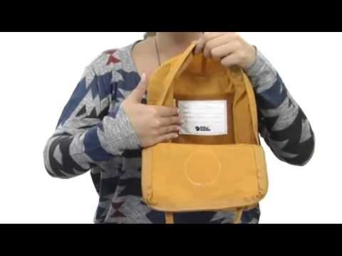 how to adjust fjallraven kanken mini straps