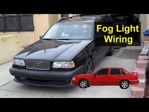 Volvo 850, S70, V70, XC70 Fog light wiring storage spot, pre wired – Auto Information Series