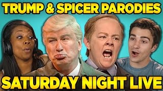 Video Adults React to SNL: Trump & Spicer Sketches (Saturday Night Live) MP3, 3GP, MP4, WEBM, AVI, FLV Agustus 2019