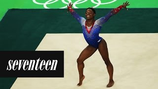 Simone Biles' Best Moves by Seventeen Magazine
