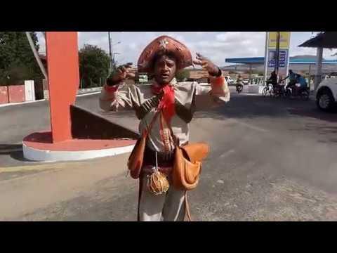 Erivaldo José, o Lampião da cidade de Olho D'Água do Casado/AL, sertão alagoano