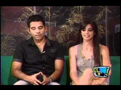 Olivia Manrufo y Luis Silva en 23yM - 2 parte
