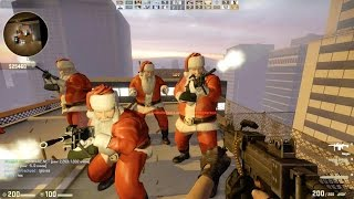 Counter Strike Global Offensive Zombie Escape mod online gameplay on ze_ATIX_Panic_b3t_p map