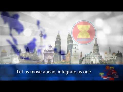 ASEAN: 'Song of Unity' (with lyrics)
