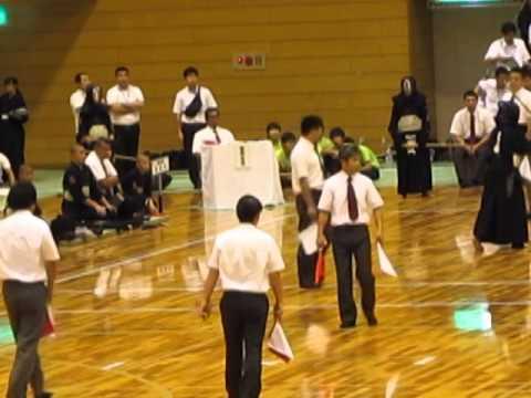 H26関東中学校剣道大会 決勝T1 関中対三室中 先次中