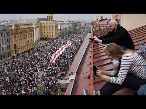 Λευκορωσία: Διογκώνεται το κίνημα διαμαρτυρίας κατά του Λουκασένκο…