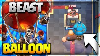 Giant Balloon Deck with No Legendary Cards Needed! Giant Balloon Deck for Legendary Arena 11, Hog Mountain Arena 10, Jungle Arena 9, Frozen Peak Arena 8, and...