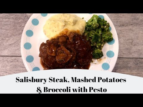 Salisbury Steak Recipe ❤️ How To Make Classic Salisbury Steak and Gravy
