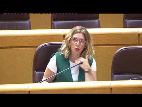 Amelia Salanueva interviene en la Comisión de Control de RTVE en el Senado