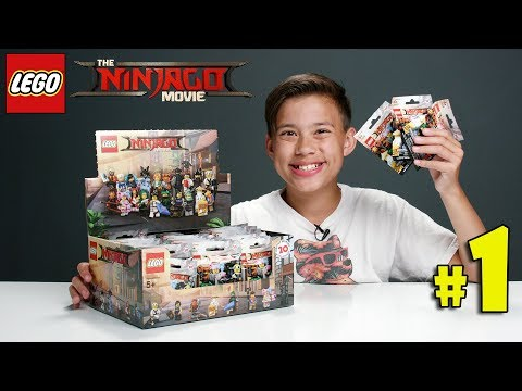 LEGO NINJAGO MOVIE MINIFIGURES!!! Let's Open Some Blind Bags! PART 1