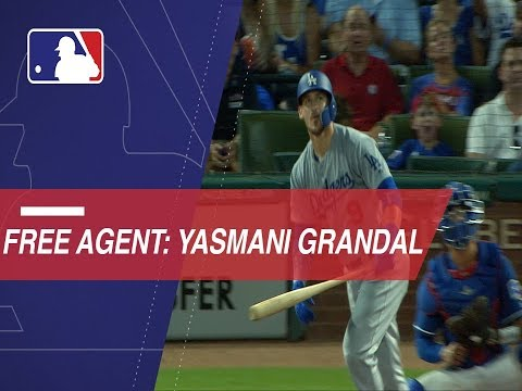 Video: Grandal becomes free agent in 2019