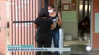 É baixa a adesão de vacinação contra gripe em Marília