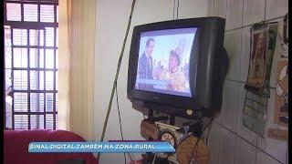 Moradores da zona rural se preparam para receber sinal digital