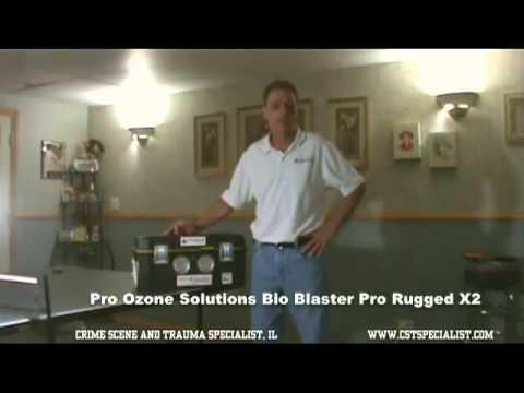 Ozone Generator For Crime Scene Clean up Destroys 3 Week Old Dead Body Odor!s