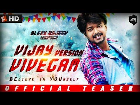 Video Vivegam Teaser in Vijay version | Vijay | Atlee | ARR | Vadivel | Rajeev | Full HD download in MP3, 3GP, MP4, WEBM, AVI, FLV January 2017
