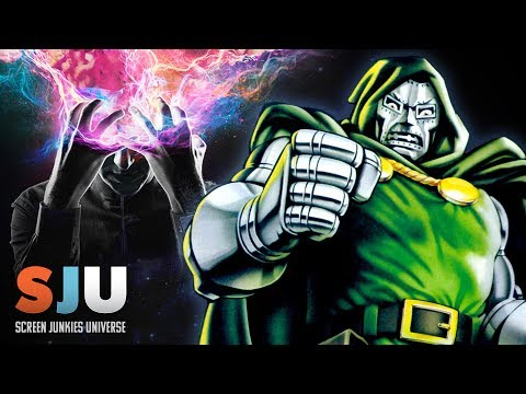 Doctor Doom Movie by Legion Creator Confirmed at SDCC w/ American Gods' Ricky Whittle ! - SJU (видео)