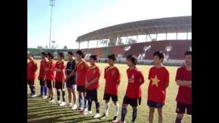 Tub kawm Hmoob Laos ncaws pob nyob Laos National Stadium (KM16) 2011