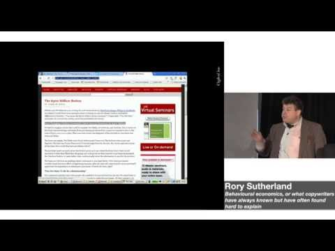Copywriting Conference 2014: Rory Sutherland · Behavioural economics